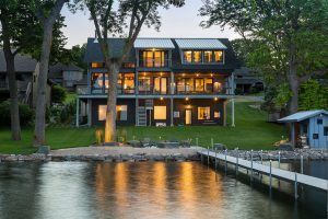 Custom Lake House Minnesota