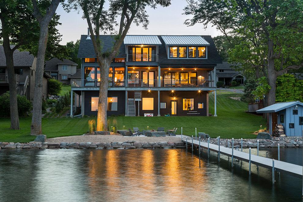 Custom Lake House Minnesota