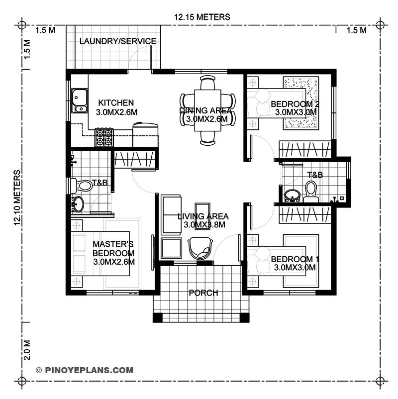 budget home floor plan