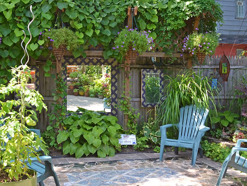 5 tips on how to make use of a small garden pinoy eplans for How to make a small yard look bigger