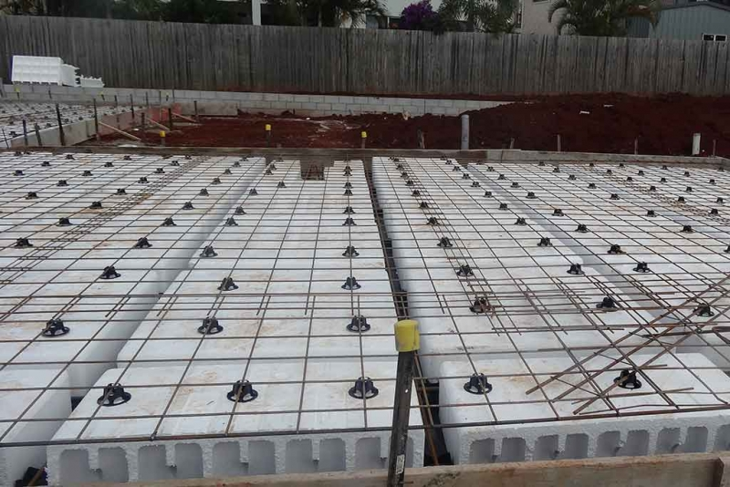 Waffle Pods for construction