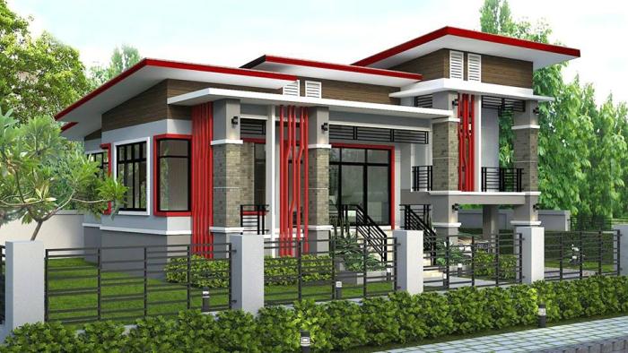 Split Level Modern House Design