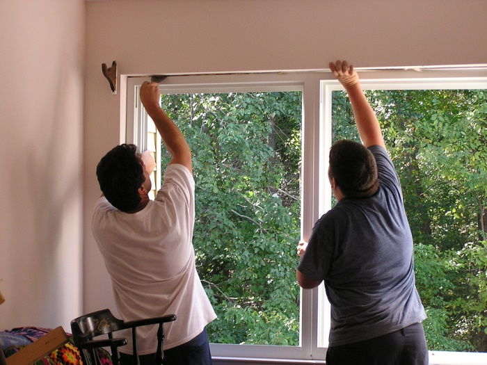 Installing Aluminum Windows