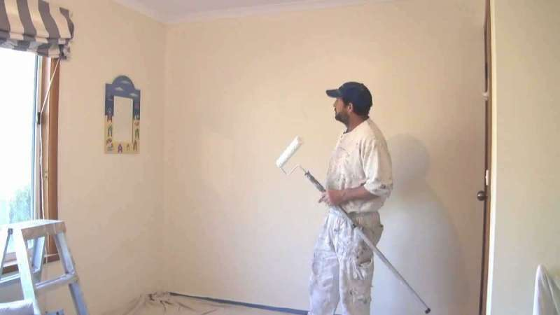 wall repainting