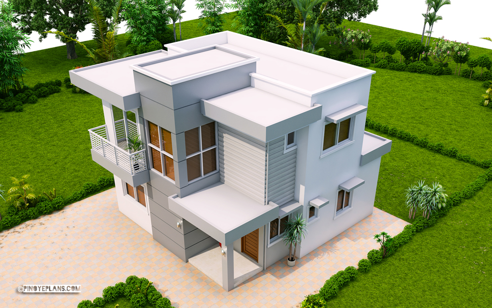 Ernesto – Compact 10-Bedroom Modern House Design  Pinoy ePlans