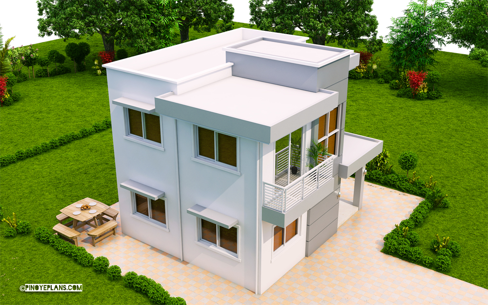 Ernesto – Compact 4-Bedroom Modern House Design | Pinoy ePlans