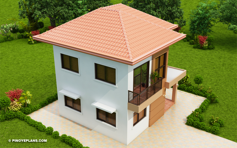 MHD-2015016_Design1_Color3_07  Bedroom House Designs For Sqm Lot on