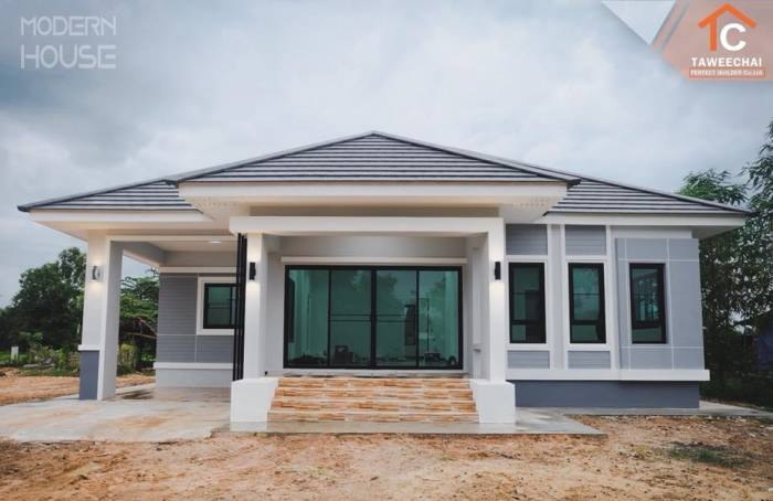 That Gray Bungalow With Three Bedrooms Pinoy Eplans
